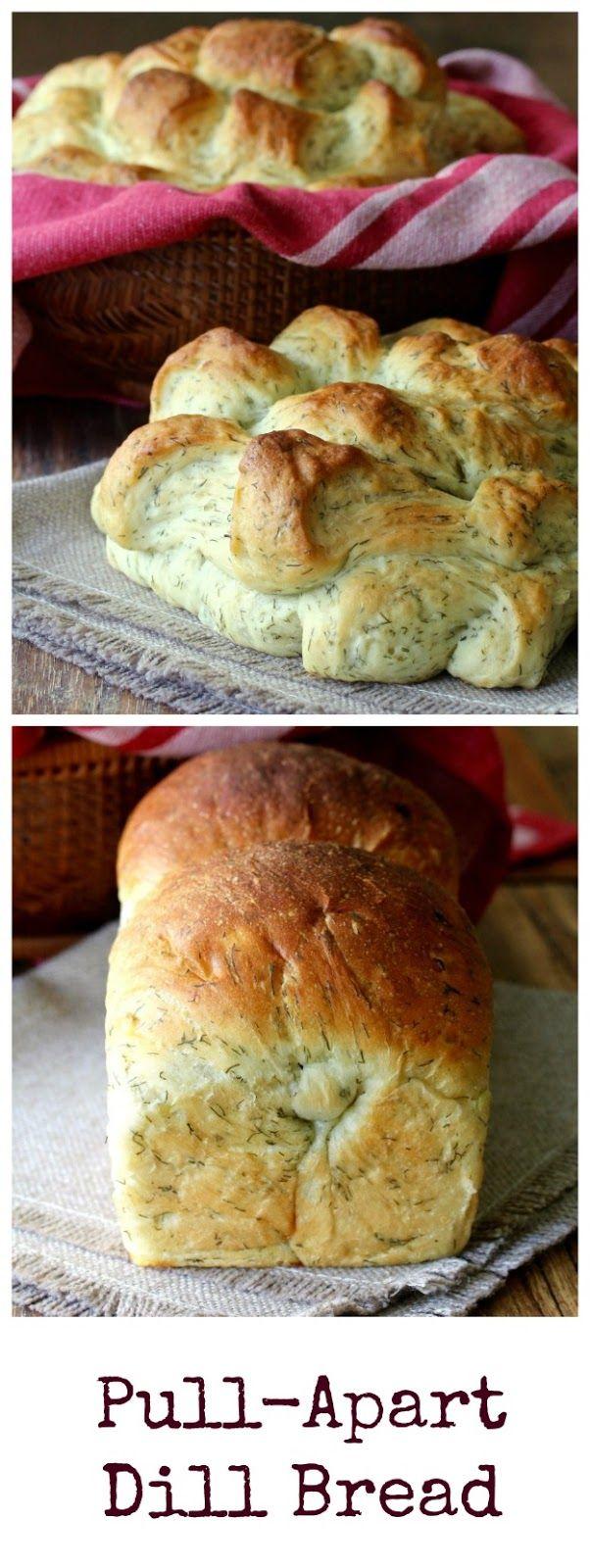 Pull-Apart Dill Bread