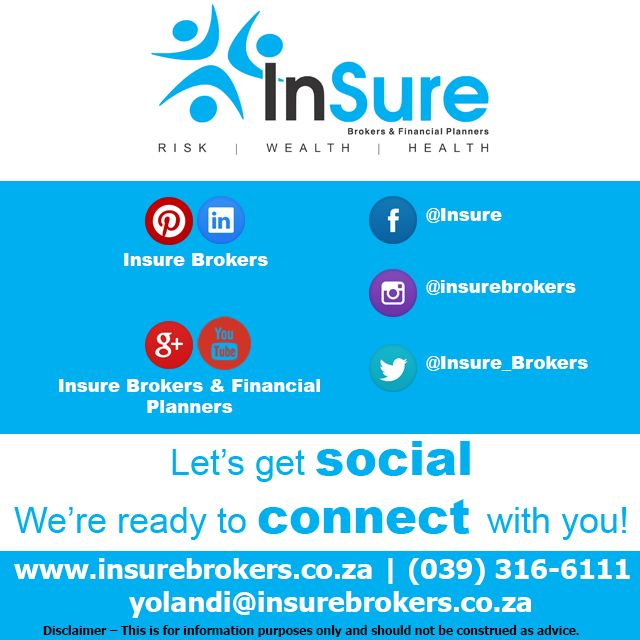 Insure Brokers has gone social and wants to connect with you! #INsureBrokers Share with us your INsurance related photos/ posts and more by tagging #INsureBrokers http://buff.ly/1HsesaG