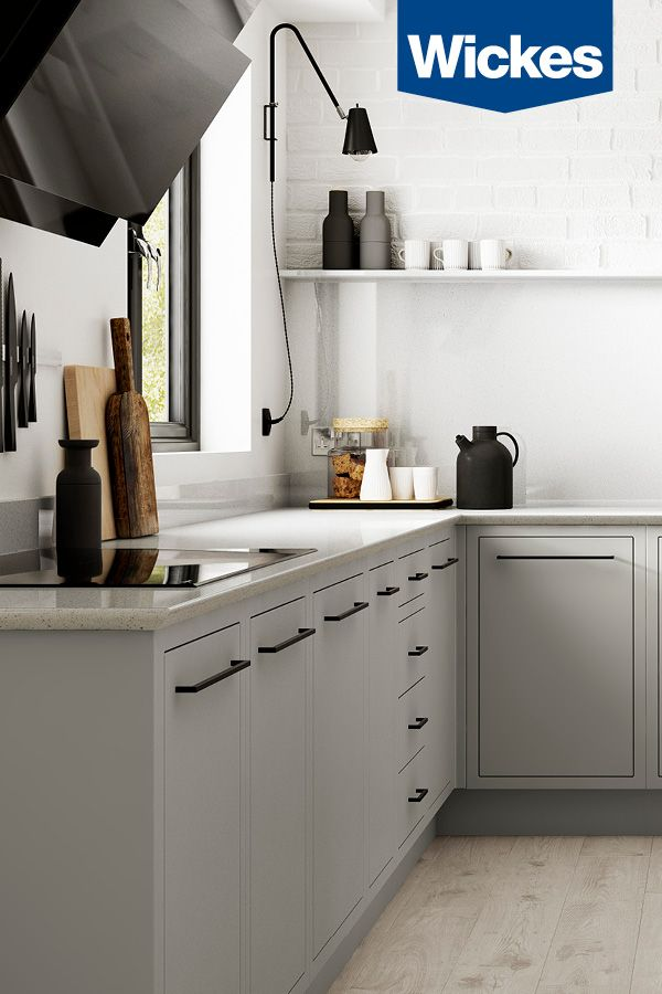 Radley Features A Distinctive In Frame Slab Design Synonymous With Time Honoured Craftsmanship Finished In Contemporary Kitchen Kitchen Design Modern Kitchen