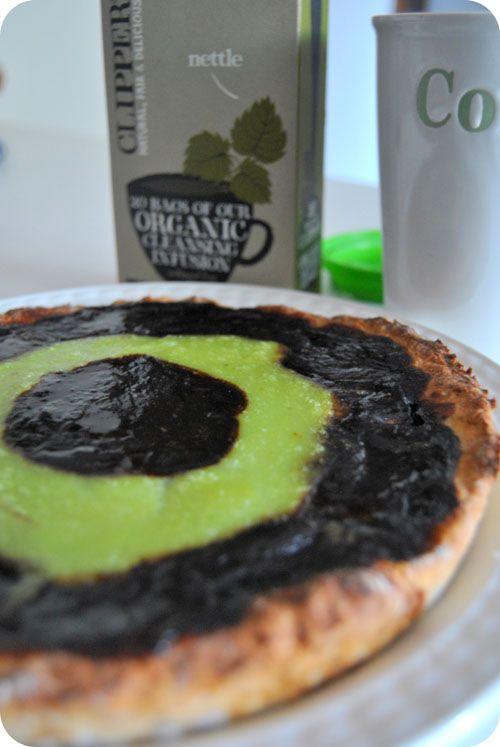 Pistachio - coffe pie