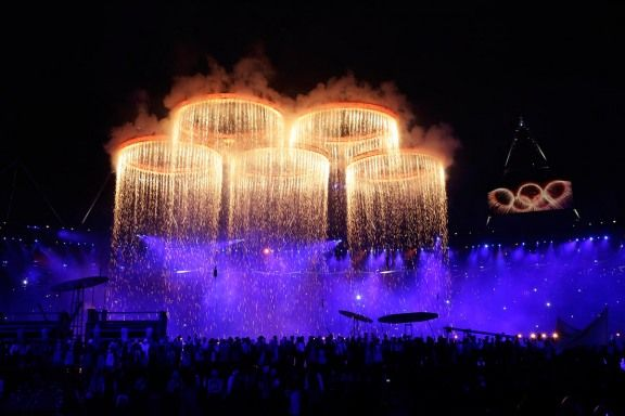 A very British opening ceremony :)