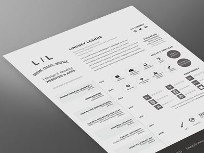 Love the look of the condensed work history on the bottom left side of the page!   Creative Resume Design, Resume Style, Curriculum Vitae, CV