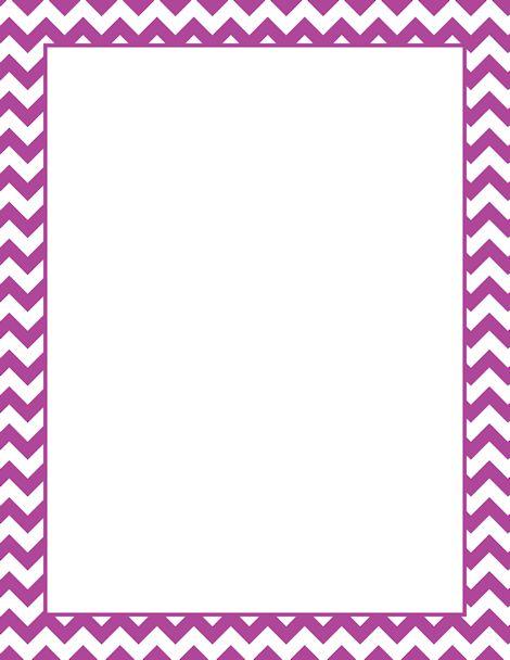 17 best Paper Borders images on Pinterest Chevron borders, Frames - paper border templates