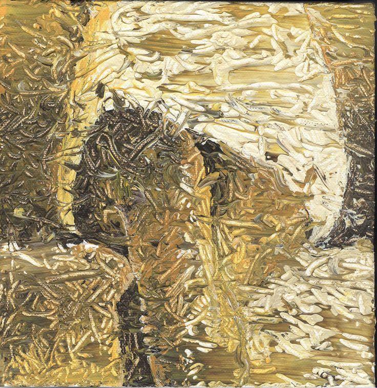 Beine, Acryl auf Leinwand, 20 x 20 cm, 2017