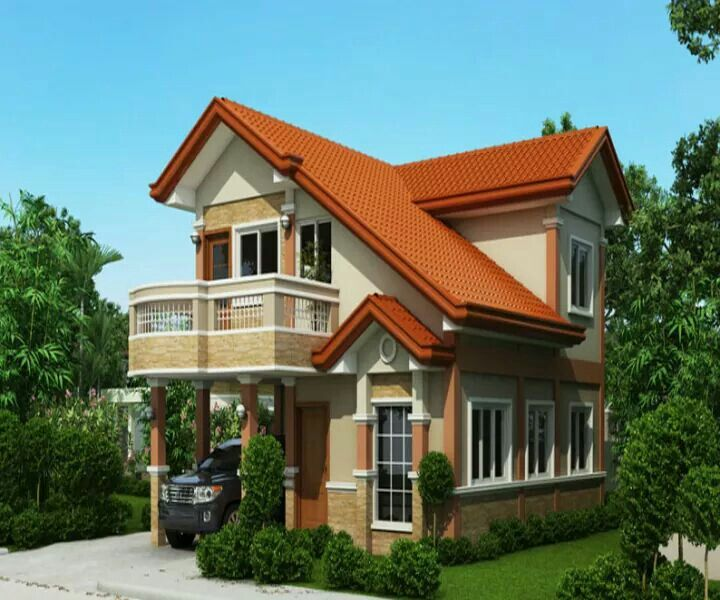 This House Plan Is A 3 Bedroom 2 Storey House Which Can Be Built In [.