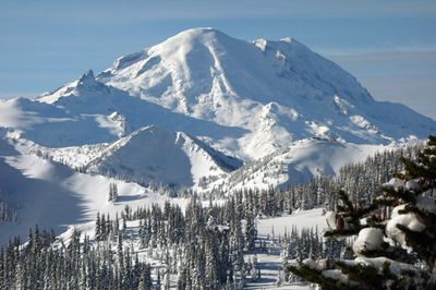 Crystal Mountain--Best Skiing in Washington State!