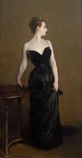 love this one. such a classic. Madame X - John Singer Sargent