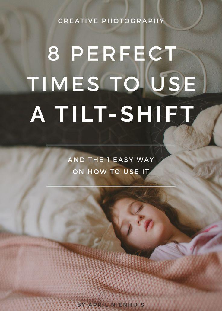 how to use z tilt shift lens