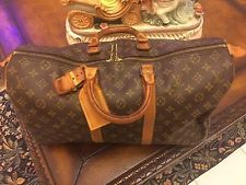 # AUTHENTIC PRE-OWNED LOUIS VUITTON MONOGRAM  KEEPALL 45 TRAVEL BAG M41428 NR