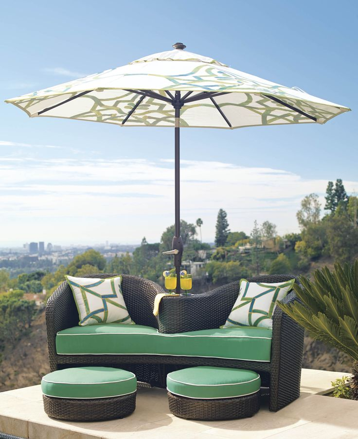Malibu For Two   Double Seat Lounger | Frontgate: Live Beautifully Outdoors