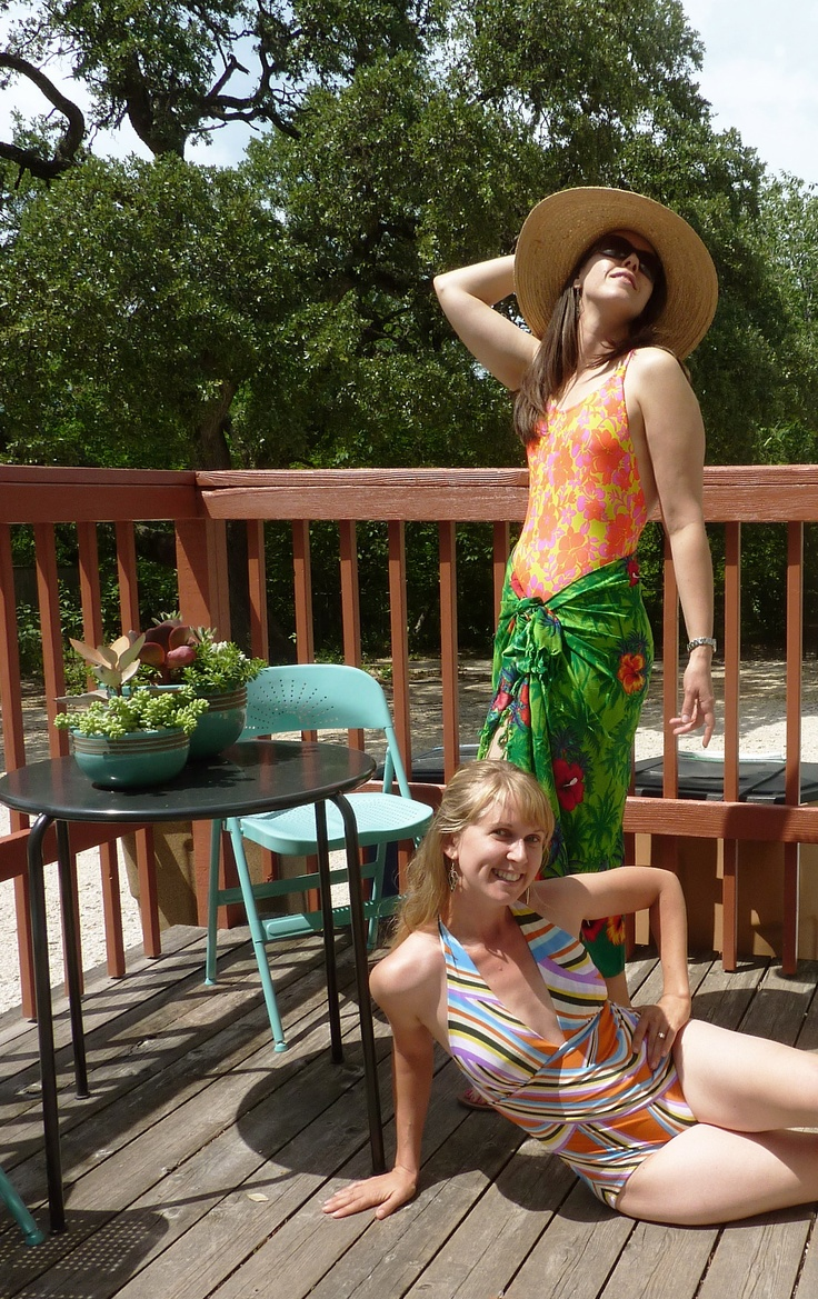 Check out these lovely ladies of Stitch Lab!! There's one spot left in the next Bathing Suits Series, starting next Wednesday night, 6/5. Grab it at http://www.stitchlab.biz/Classes/Bathing_Suits.html