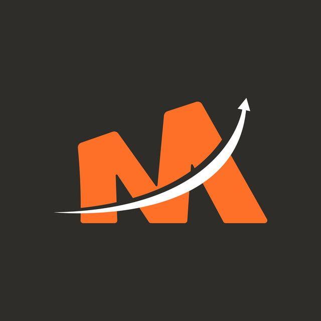 حرف M التسويق الرقمي شعار قالب النواقل Marketing Logo Lettering Vector Logo