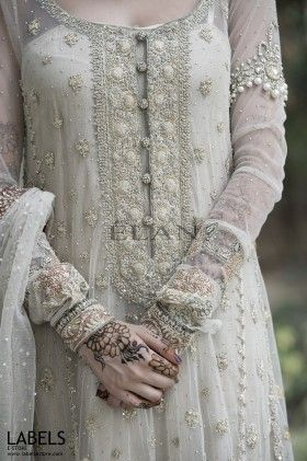 love this Pakistani Frock Design