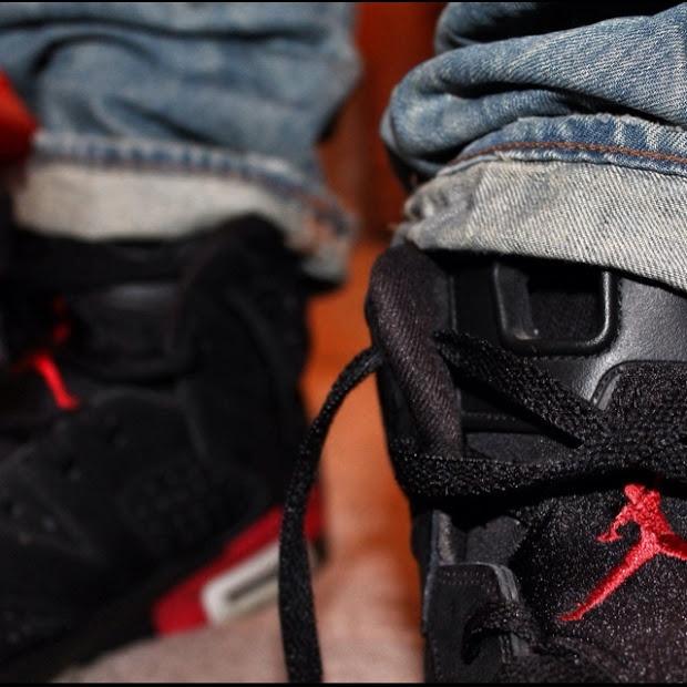 Air Jordan VI Infrareds, G-Star jeans #sneakers #jordan #airjordan