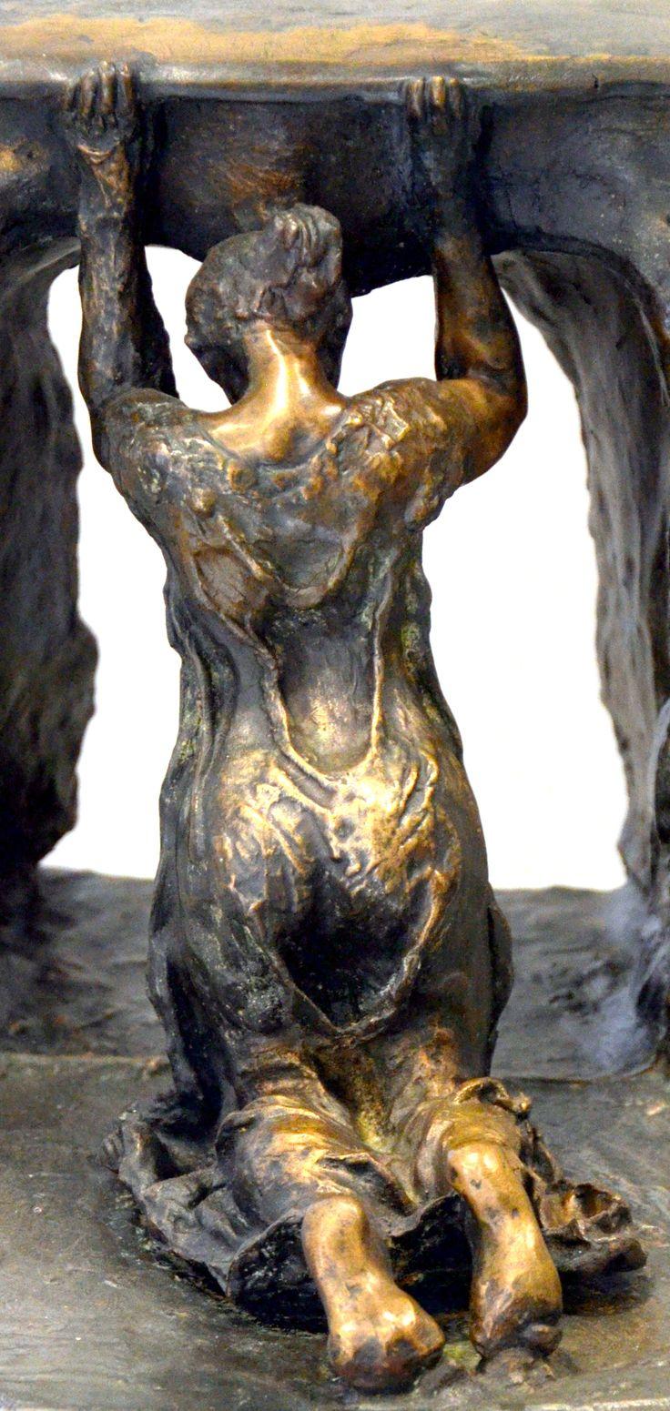 Profonde Pensée vers 1898 par Camille CLAUDEL (1864-1943). Bronze. Musée Camille Claudel à Nogent-sur-Seine. Photo : Hervé Leyrit ©