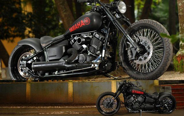 custom yamaha dragstar 650