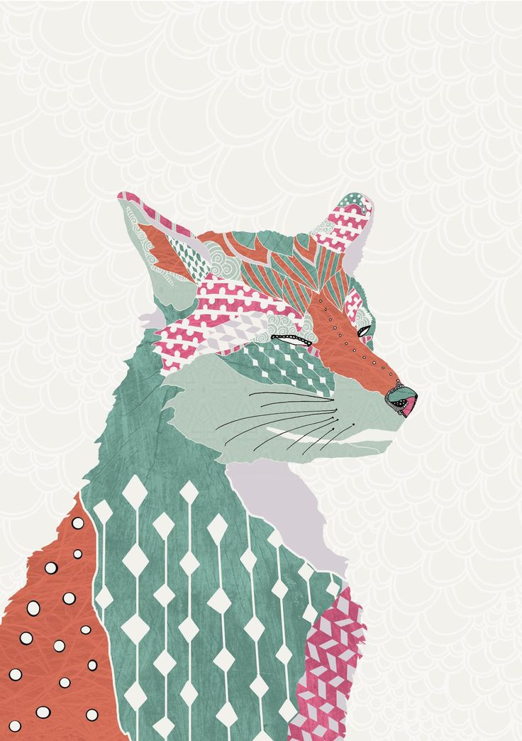 Natalia Segerman original illustrations - Fox