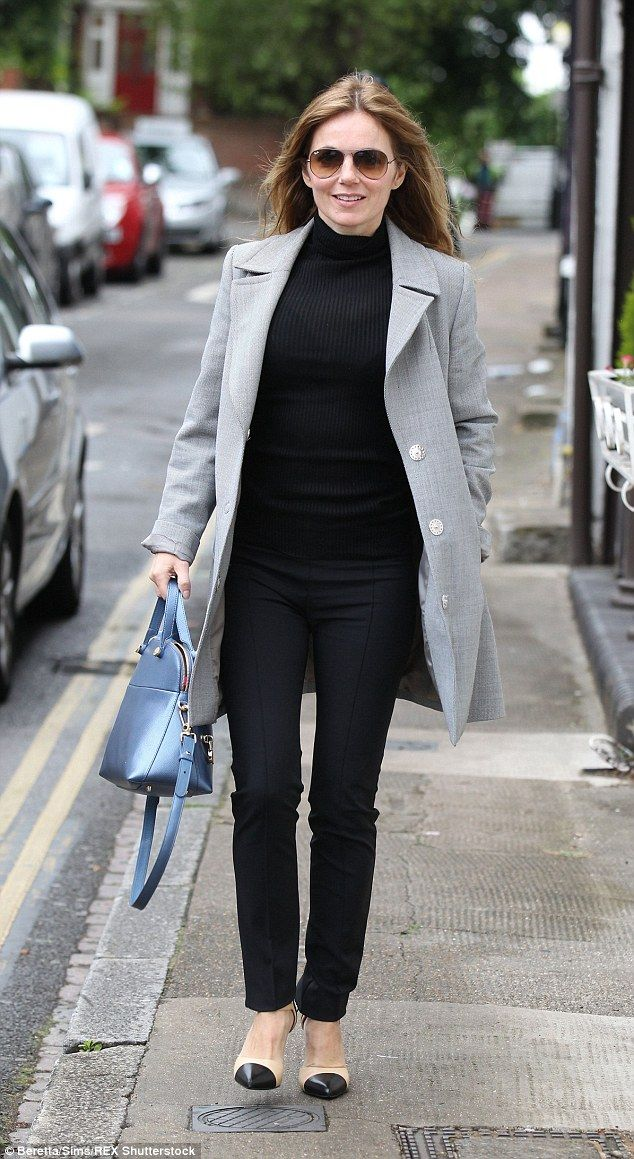 Geri Halliwell settles back into London life after French honeymoon | Daily Mail Online