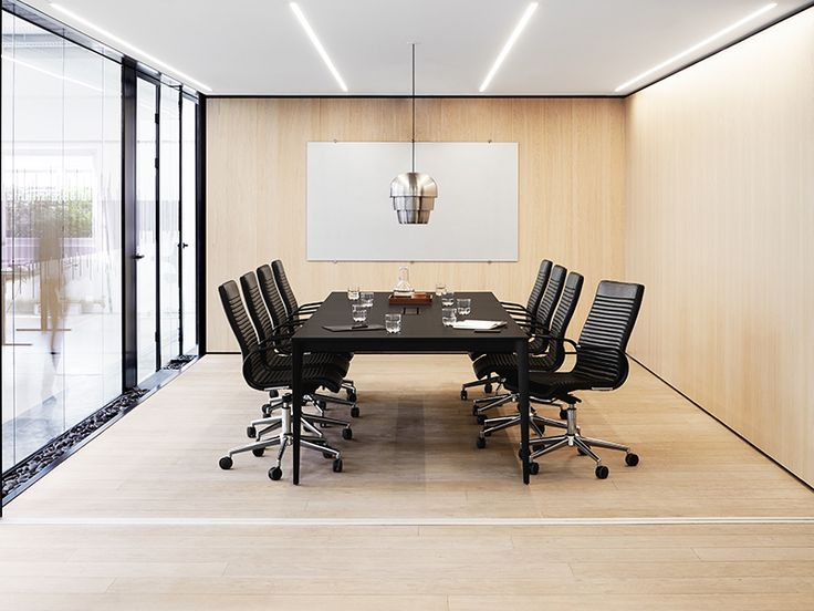 Torino black designer conference table Sydney