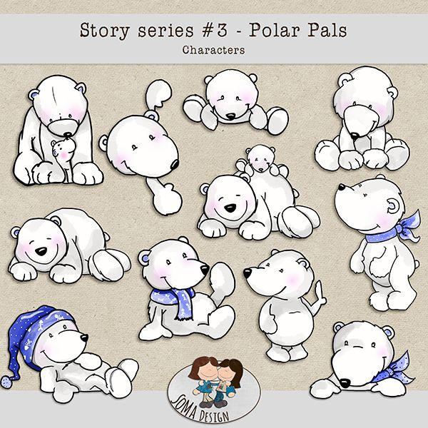 SoMa Design: Polar Pals Characters