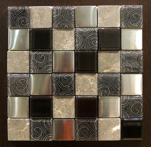 mozaiek combi 8110 29.5 x 29.5 (4.8 x 4.8) per matje online bestellen - TEGELinfo
