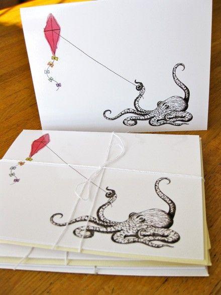 Octopus Card. $3.00, via Etsy.