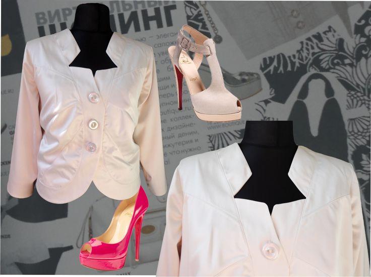 56$ Нарядный пиджак для полных женщин из атласа молочный фото зоны декольте крупным планом Артикул 382, р50-64 Пиджаки летние большие размеры Пиджаки модные большие размеры Пиджаки короткие большие размеры Пиджаки женские большие размеры  Пиджаки атласные большие размеры Пиджаки офисные большие размеры  Пиджаки деловые большие размеры Пиджаки молочные большие размеры