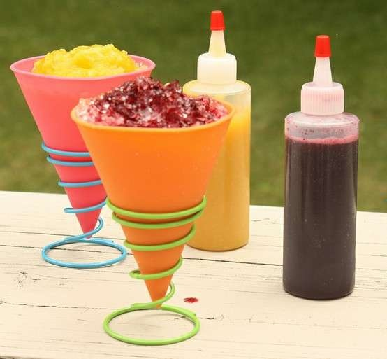 Shaved ice syrups recipes