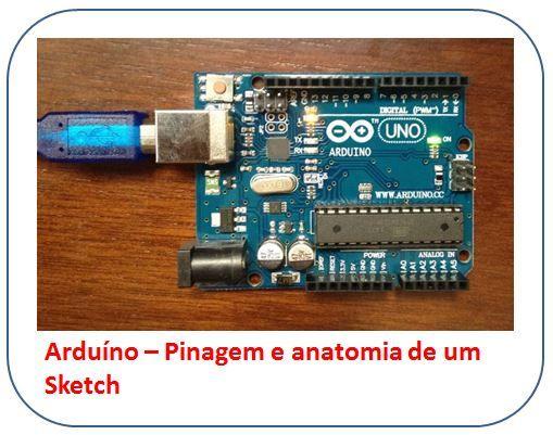 Arduino Uno - Pinagem e anatomia de um sketch  #arduino #eletronica