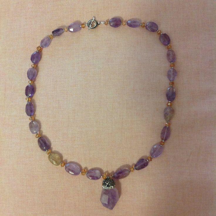 MG Jewellery Ametrine, citrine