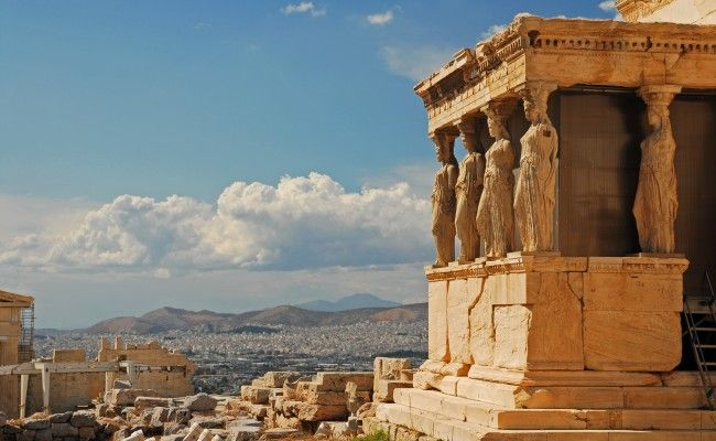 The Akropolis of Athens (partial)