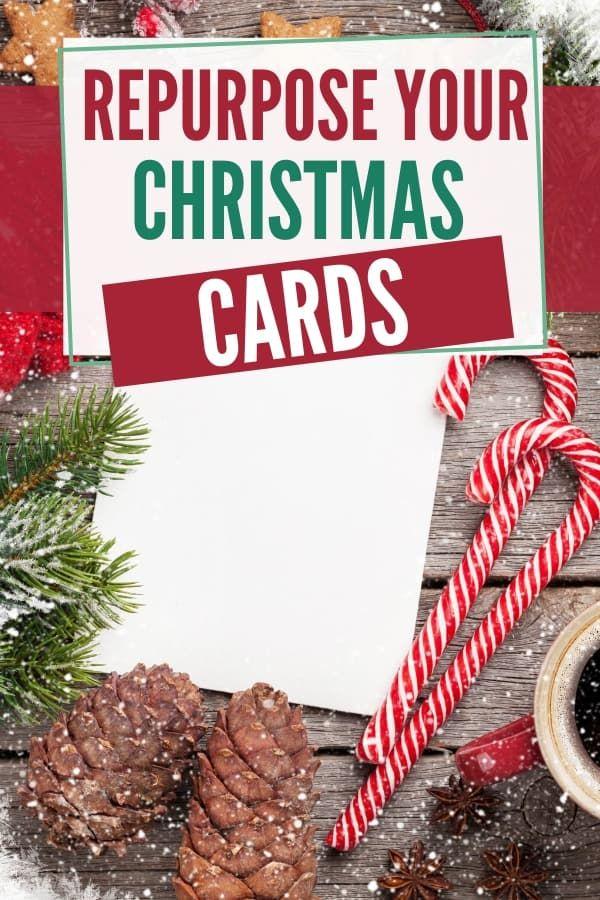 Christmas 2020 Repurpose 10 Ways to Repurpose Your Christmas Cards in 2020 | Christmas