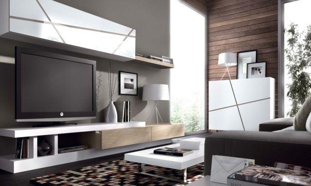 Dans notre article d'aujourd'hui nous allons essayer de vous aider dans votre recherche déco en vous proposant 35 idées de meuble télé design et moderne.
