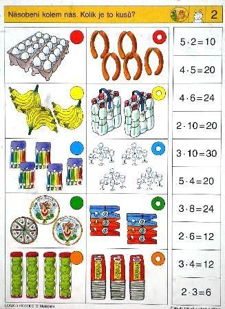 LOGICO PICCOLO | Čísla do 100 - Násobení a dělení | Didaktické pomůcky a hračky - AMOSEK