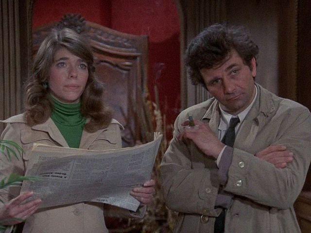 Columbo, Lovely But Lethal Season 3 Episode 1, Episode aired 23 September 1973, Peter Falk, Sian Barbara Allen