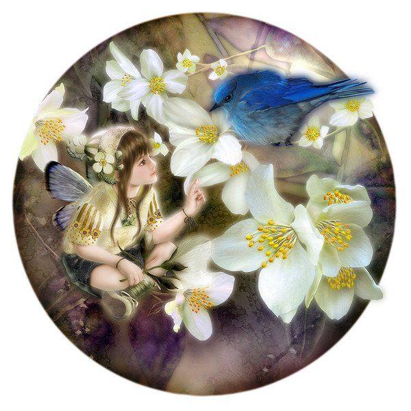 - Fairy Paintings by Miharu Yokota  <3 <3