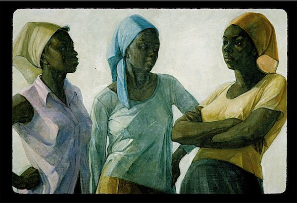 "Barrington Watson has been described, simply, as ""Jamaica's master painter."" Educated at the Royal College of Art in the UK, Watson's marriage of European style and quintessentially Jamaican scenes has kept him at the forefront of Jamaican art since his emergence at the very start of Jamaica's post-independence era in the early '60s."