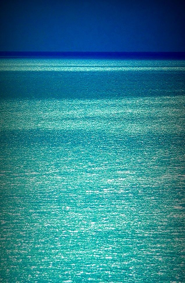 Shades of Blue at the Pacific Ocean, Hawaii
