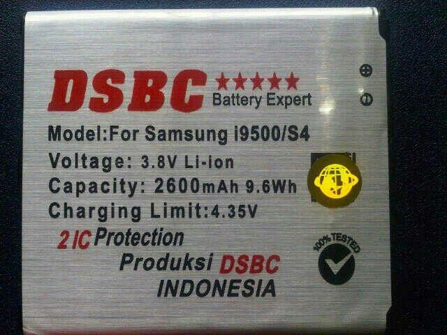 Baterei Samsung Galaxy S4 Rp. 250.000, -