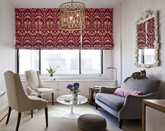 Upholstery Basics: Extending the Life of Your Upholstered Furniture: Romans Shades, Open Spaces, Small Apartment, Small Living Rooms, Studios Apartment, Small Rooms, Window Treatments, Small Spaces, Design Home