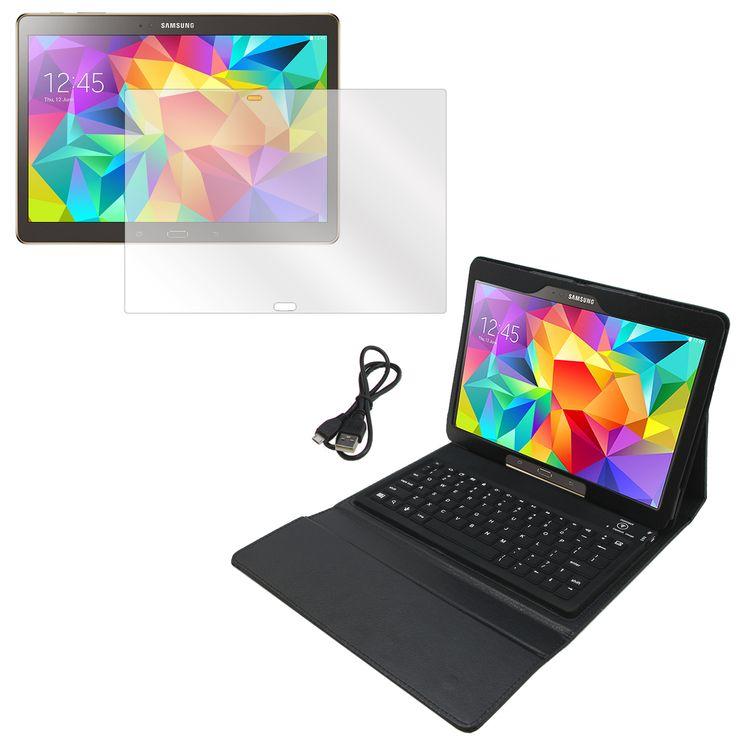 MGear Galaxy Tab S 10.5 (T800) Screen Protector & BT Folio