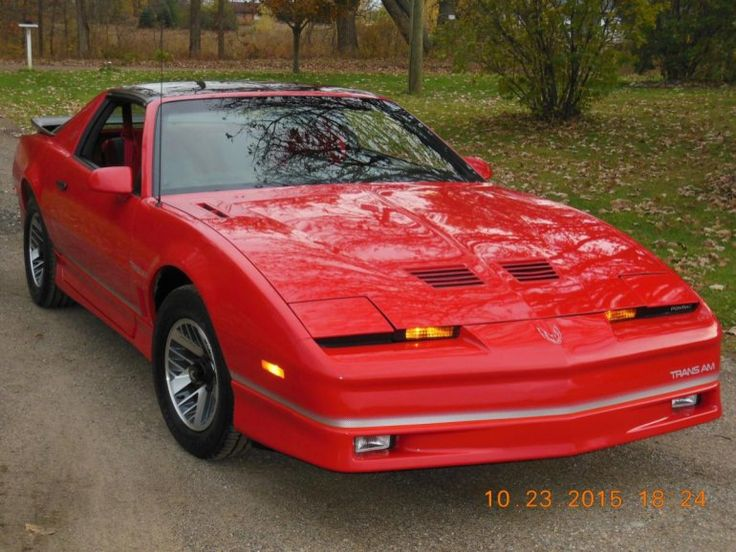 The 25 best ideas about Trans Am For Sale on Pinterest
