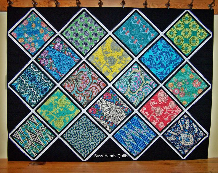 Ready to Ship, Amy Butler Quilt, Modern Lap Quilt, Stained Glass Quilt Handmade, Quilts For Sale, Busy Hands Quilts by BusyHandsQuilts on Etsy https://www.etsy.com/listing/552267996/ready-to-ship-amy-butler-quilt-modern