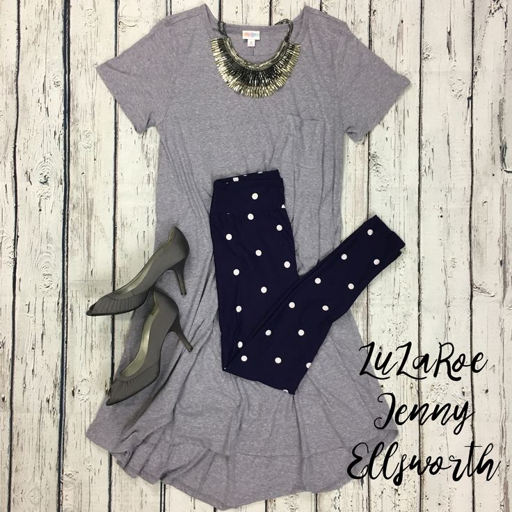 Join LuLaRoe Jenny Ellsworth's shopping group for more outfit inspiration! LuLaRoe Carly Dress and Leggings.