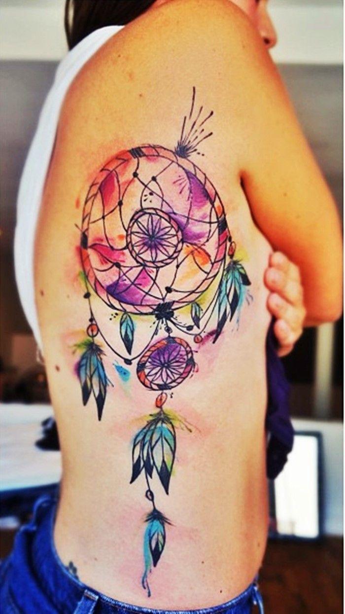 dream catcher tattoo-9