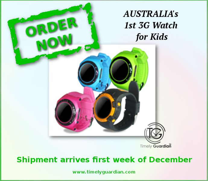 ORDER NOW Shipment arrives first week of December #GPS #TrackingDevice #Watch #ChildSafety