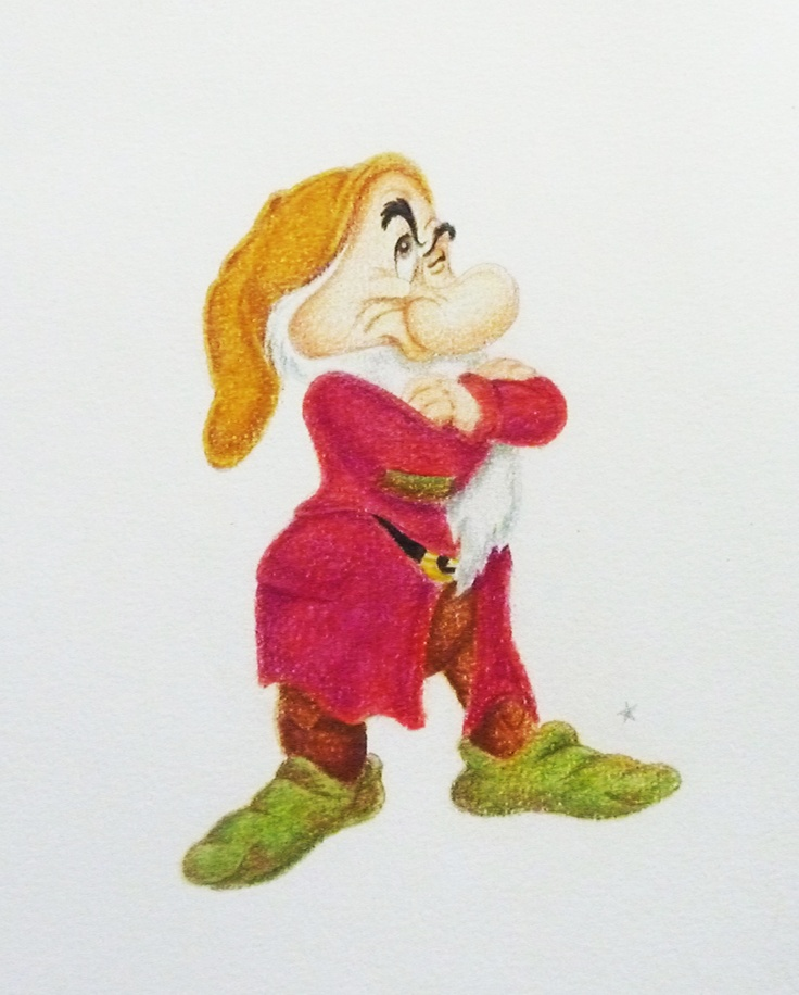 This time: a dwarf (Grumpy)