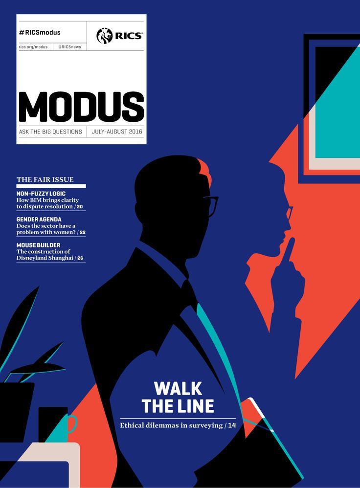 cover design | Modus — Malika Favre