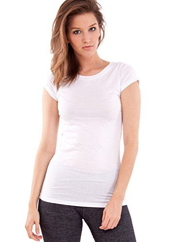 17 best images about t shirts women 39 s on pinterest for Plain white tee shirt womens