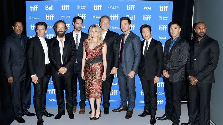 """Toronto: 'Magnificent Seven' Cast Diversity Unintentional Yet Noteworthy Says Antoine Fuqua """"We just talked about actors and I just wanted to see Denzel Washington on a horse. I didnt think about color or anything."""" read more"""